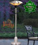 Firefly� 2.1kW Free Standing Adjustable Height Halogen Bulb Electric Infrared Patio Heater